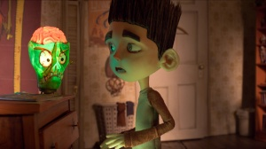 """Ghoul whisperer"" Norman gets spooked by his zombie lamp inPARANORMAN, directed by Sam Fell and Chris Butler,the new comedy thriller from LAIKA and Focus Features."